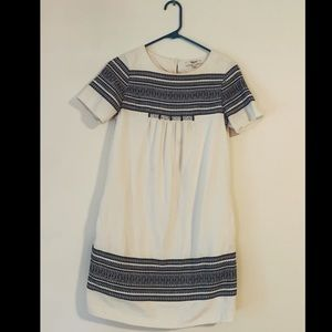 Madewell Cabana Jacquard Shift Dress